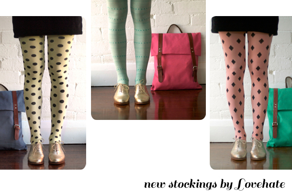 New Lovehate tights instore!